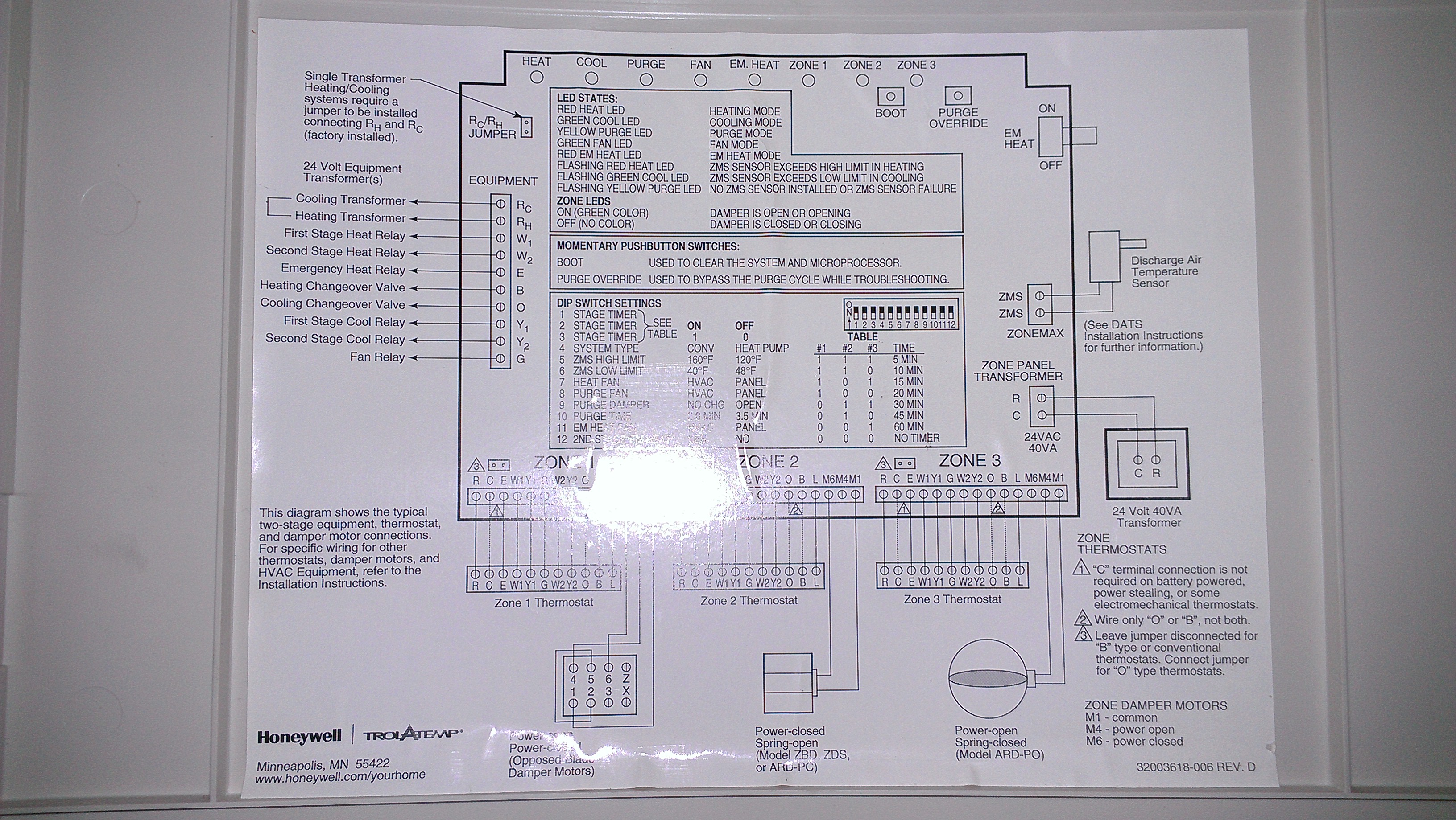 t8411r 1077 2 wiring diagram  t8411r  get free image about Honeywell Universal Mini Zone Purge Honeywell Mini Zone Manual