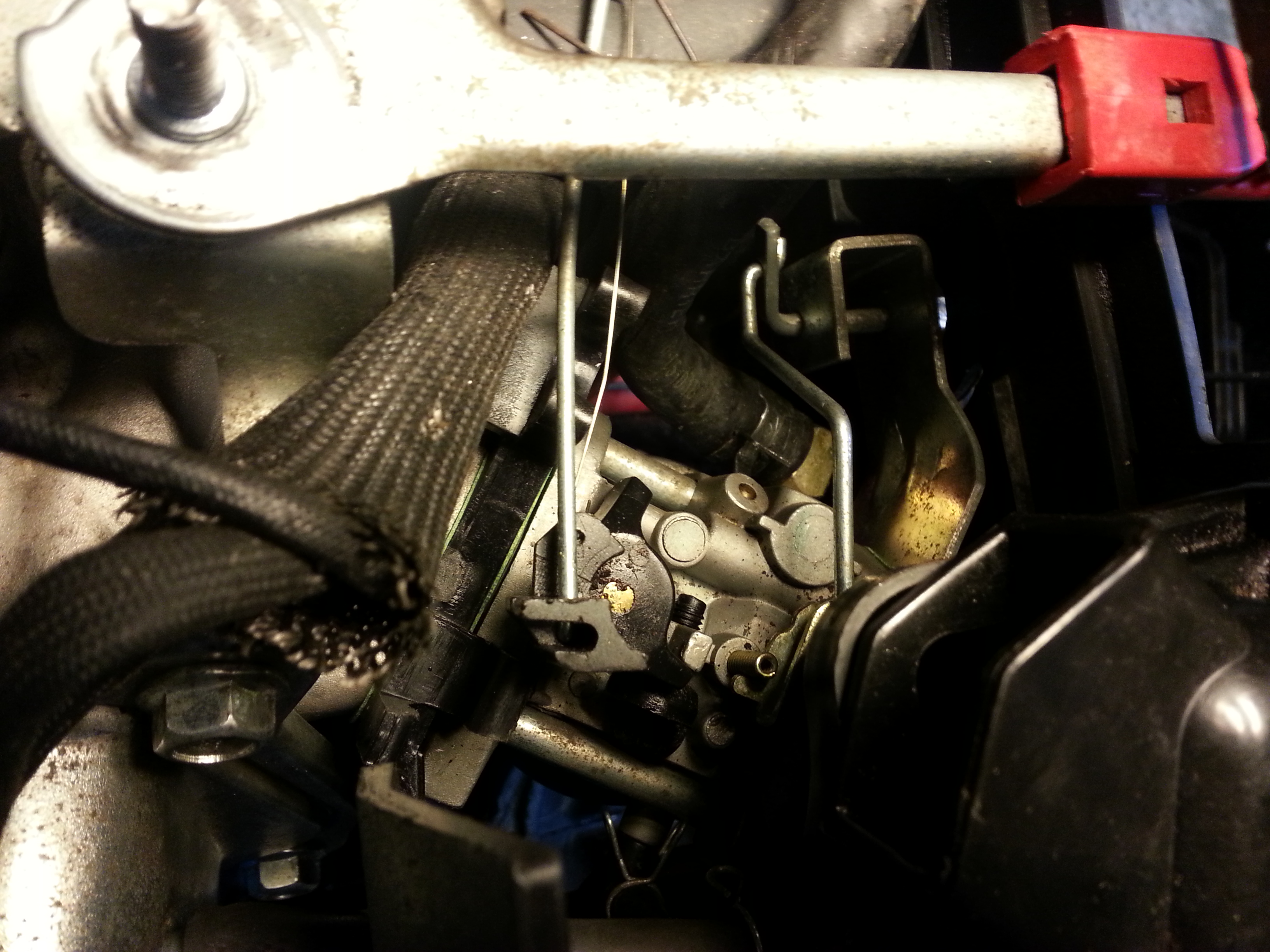 Replaced the head gasket on my craftsman 26 quot model 247 889701