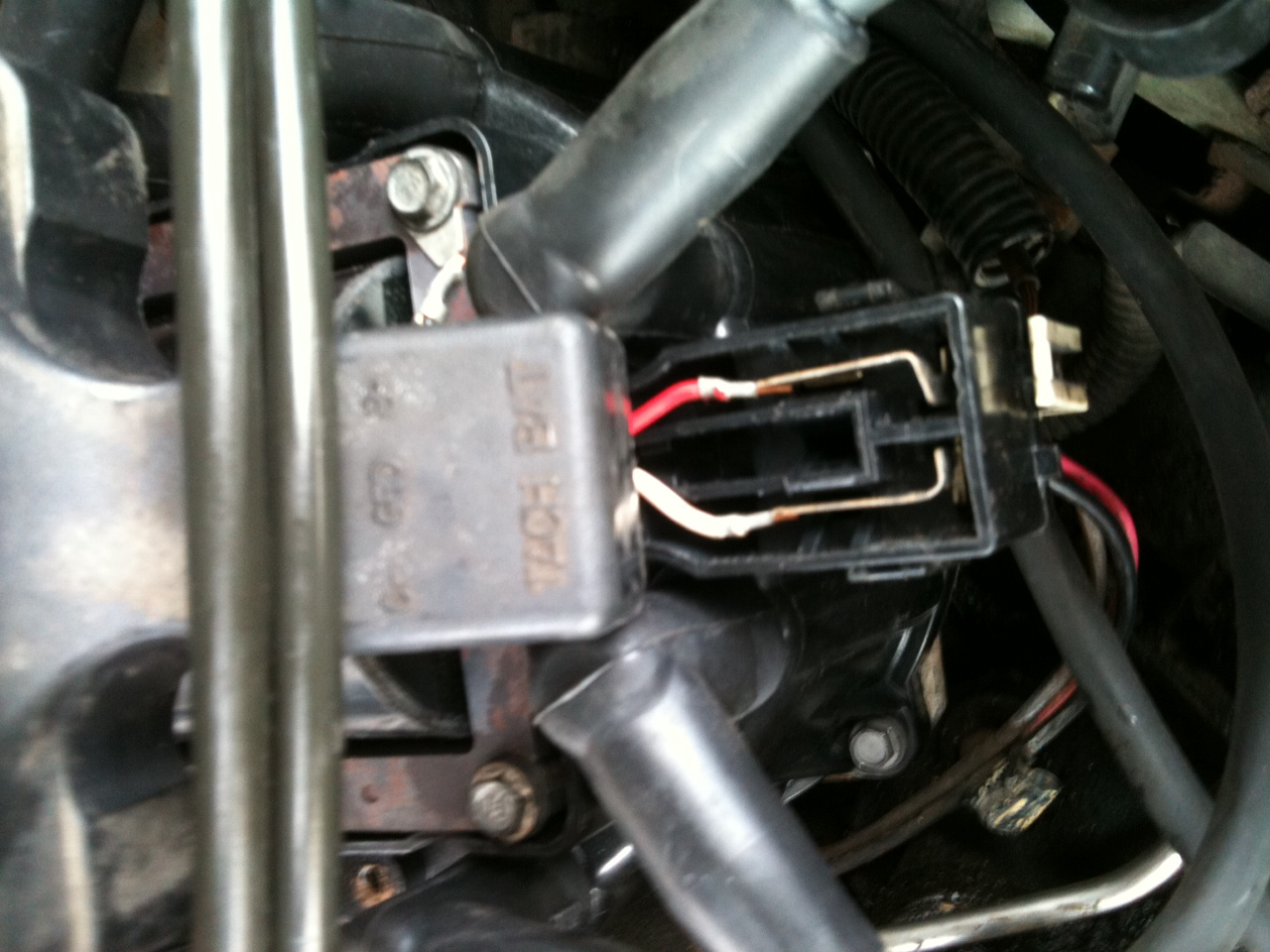 1992 cadillac deville: touring..a tune up(plugs, wires ... 1992 cadillac deville distributor wiring #2