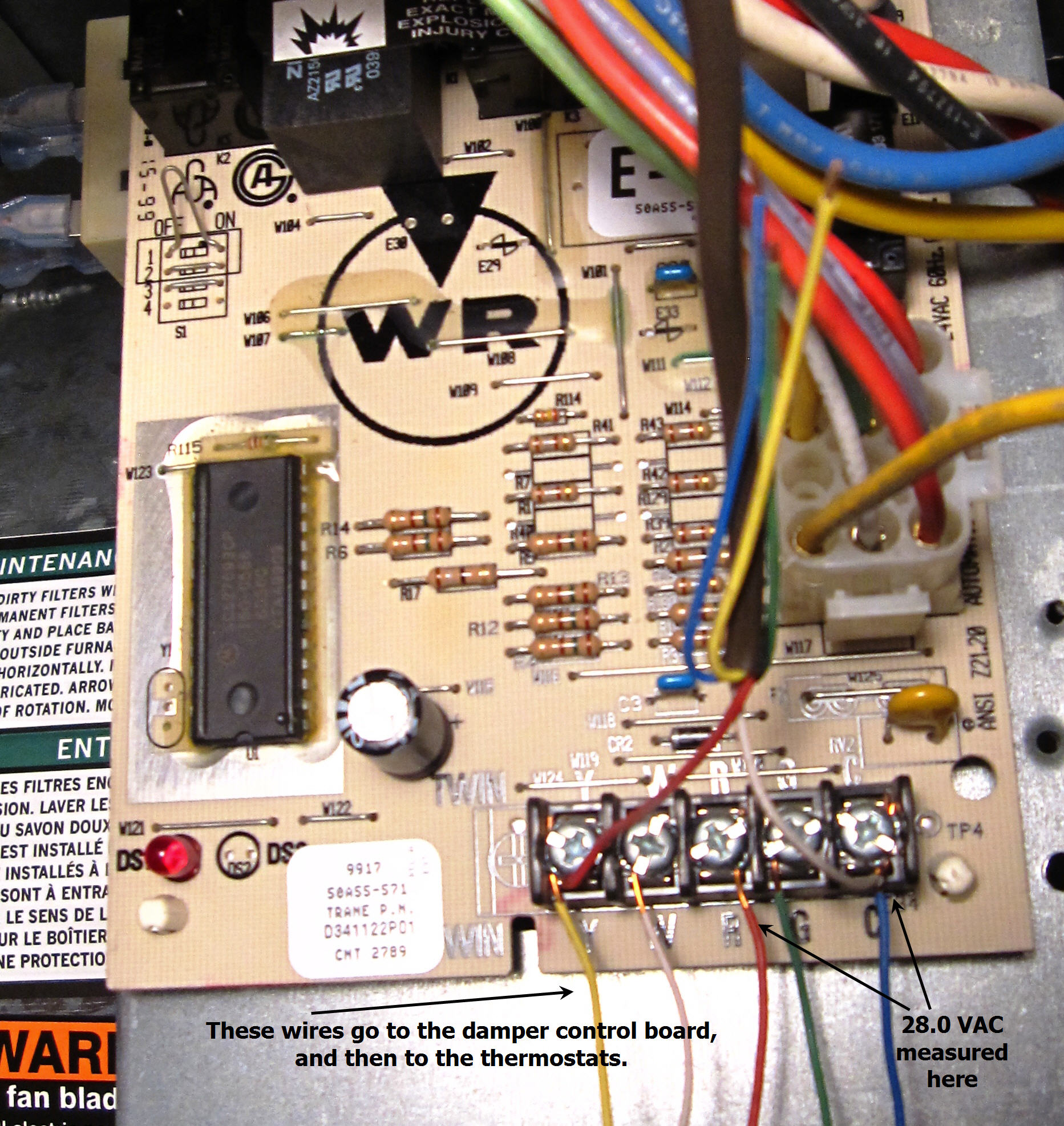 furnace control wiring    furnace       furnace    zone not working     furnace       furnace    zone not working