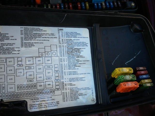 2011 e350 instrimunt fuse autos post