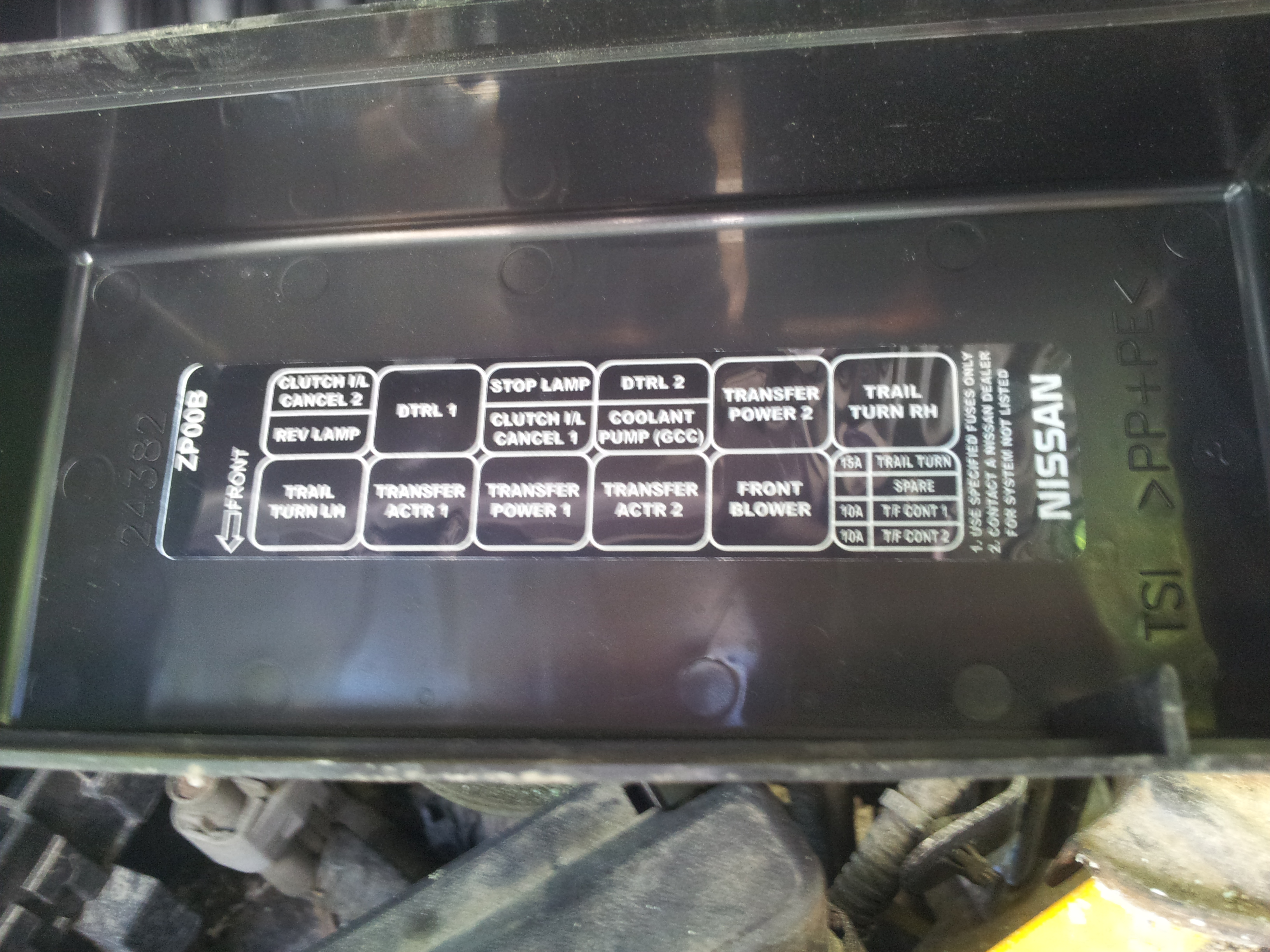 similiar 2007 nissan frontier fuse box keywords nissan frontier clutch interlock relay