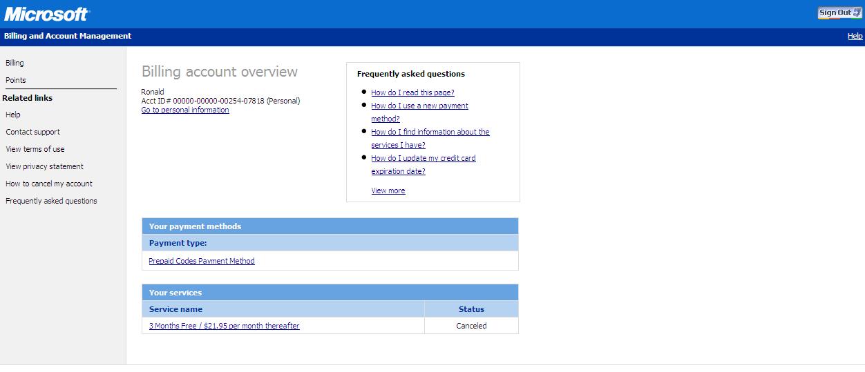 how to delete my windows live account