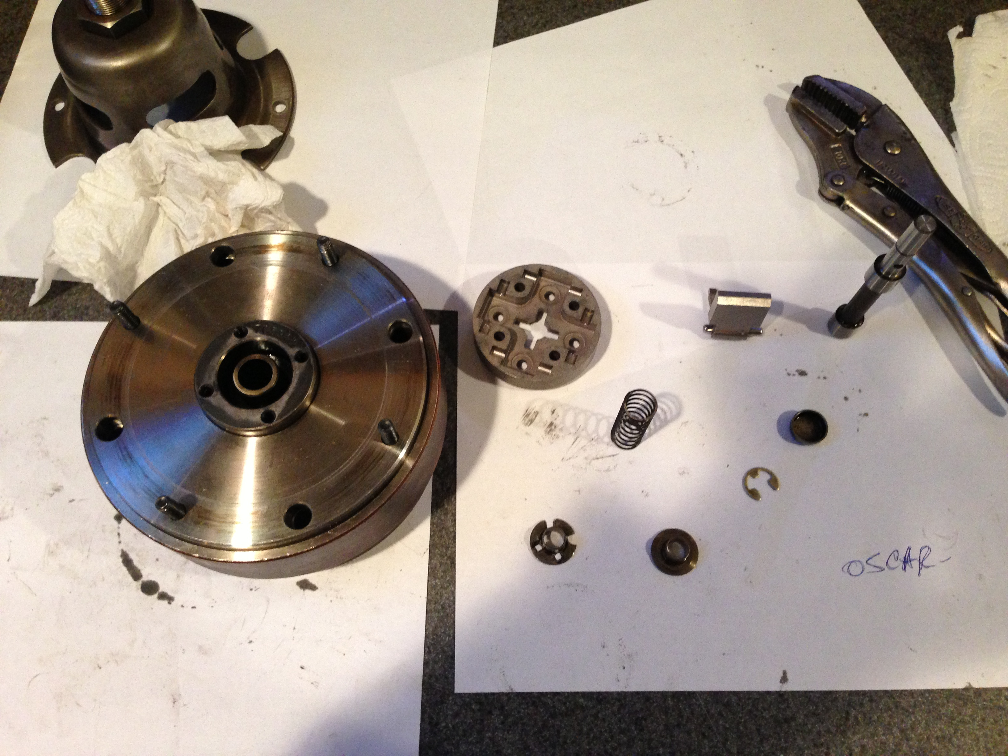 Hello Need Help Putting Back Together Timing Advance 4mg 3