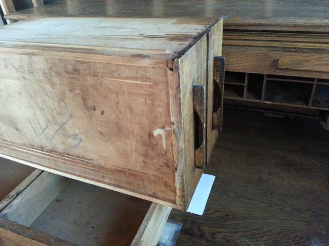 I Have I Believe An Antique Roll Top Desk I Need To Know The