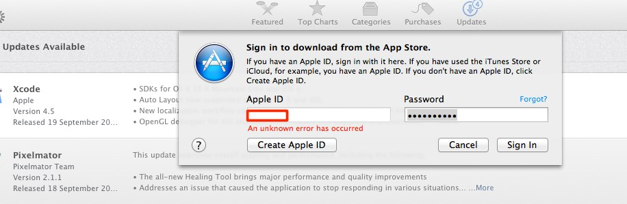 how to change store location in app store mac