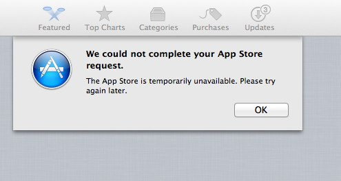 App Store Error