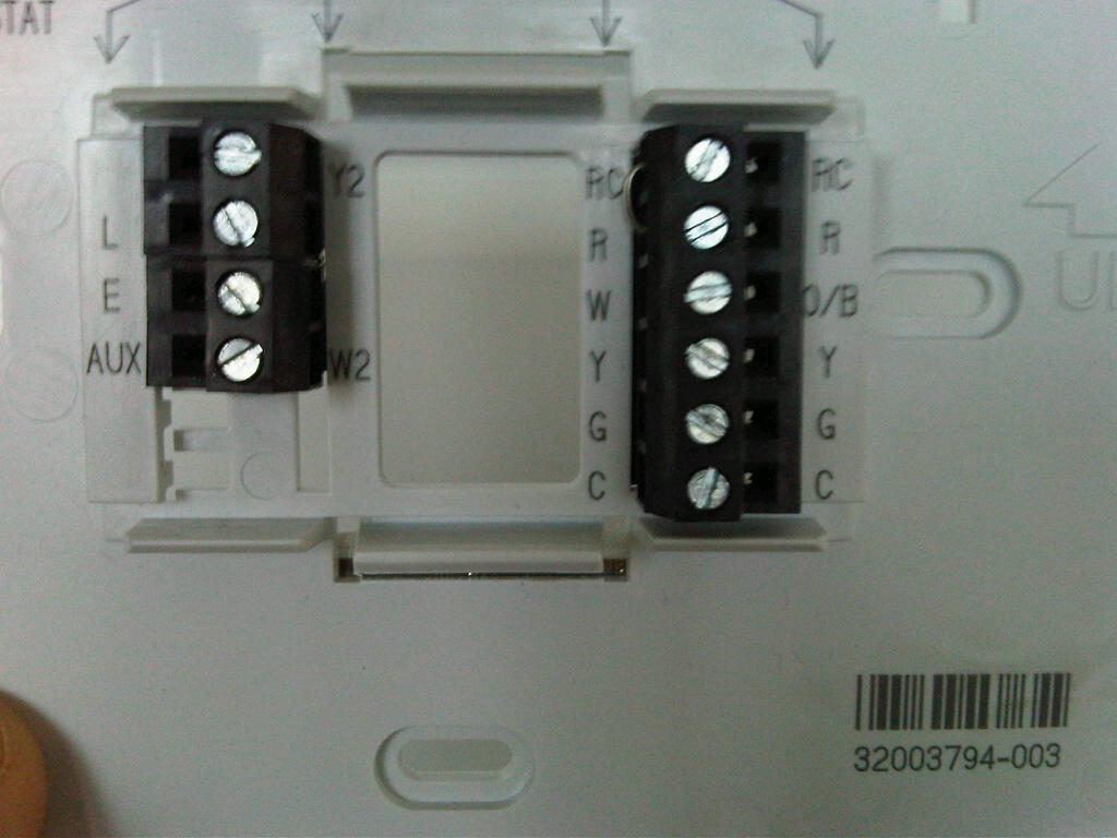 hvac and the second picture is the thermostat plate that i want to use #63442A