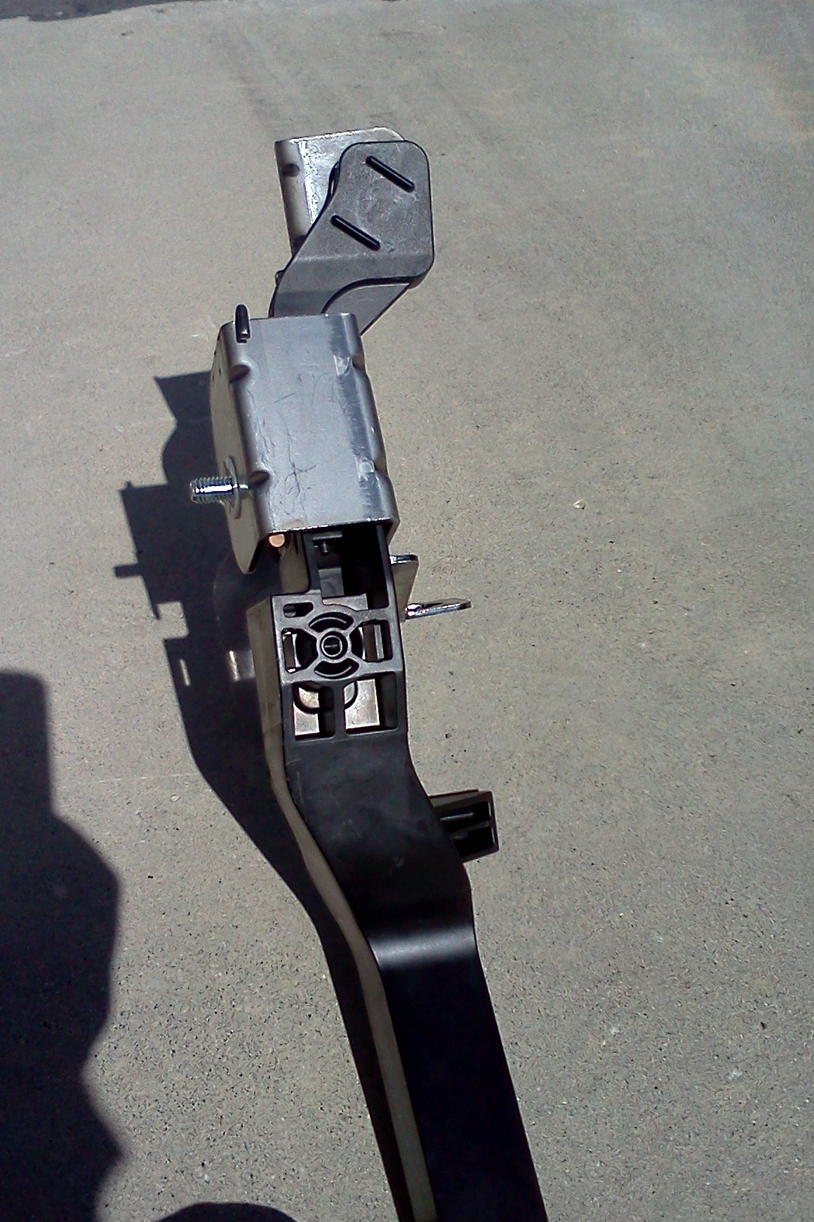 clutch pedal (new) front view