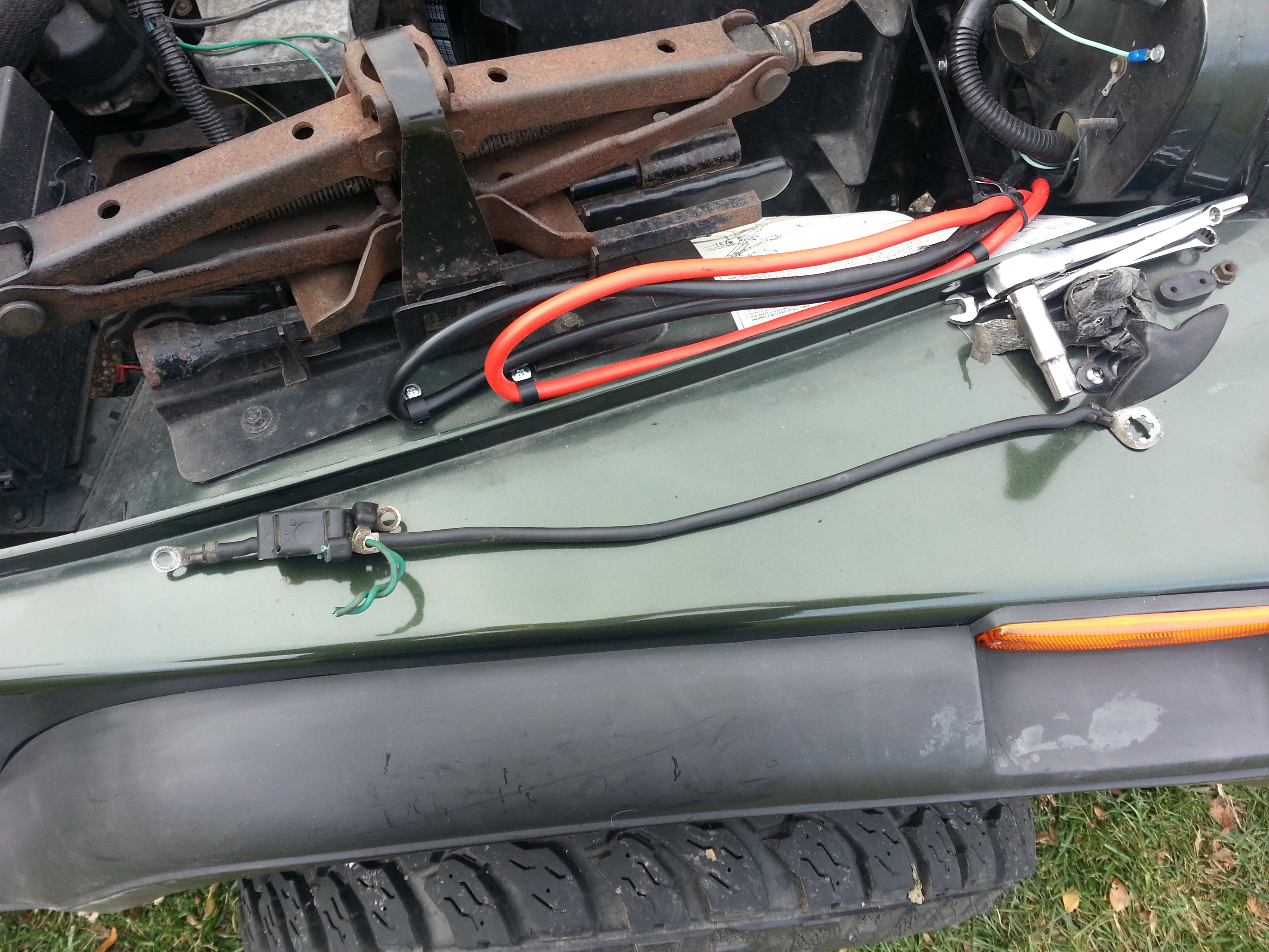 y splice wire harness html with 849y0 Jeep Yj Sahara Rto Grand Replacing Alternator 95 Yj Wrangler on Wiring harness mazda mpv additionally 839000 Mgs True Dual Install Pics And Video also Index17 besides 13708 Vz  modore Wiring Diagram Mobile Phone as well 839000 Mgs True Dual Install Pics And Video.