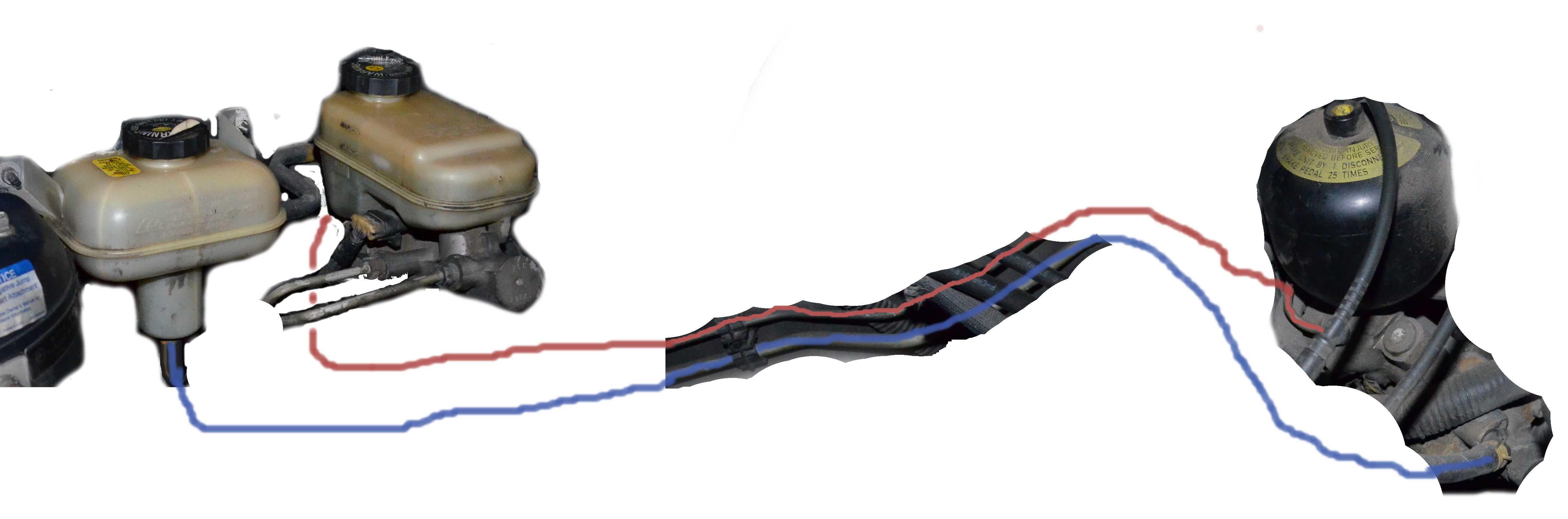 2000 Seville brake circuit