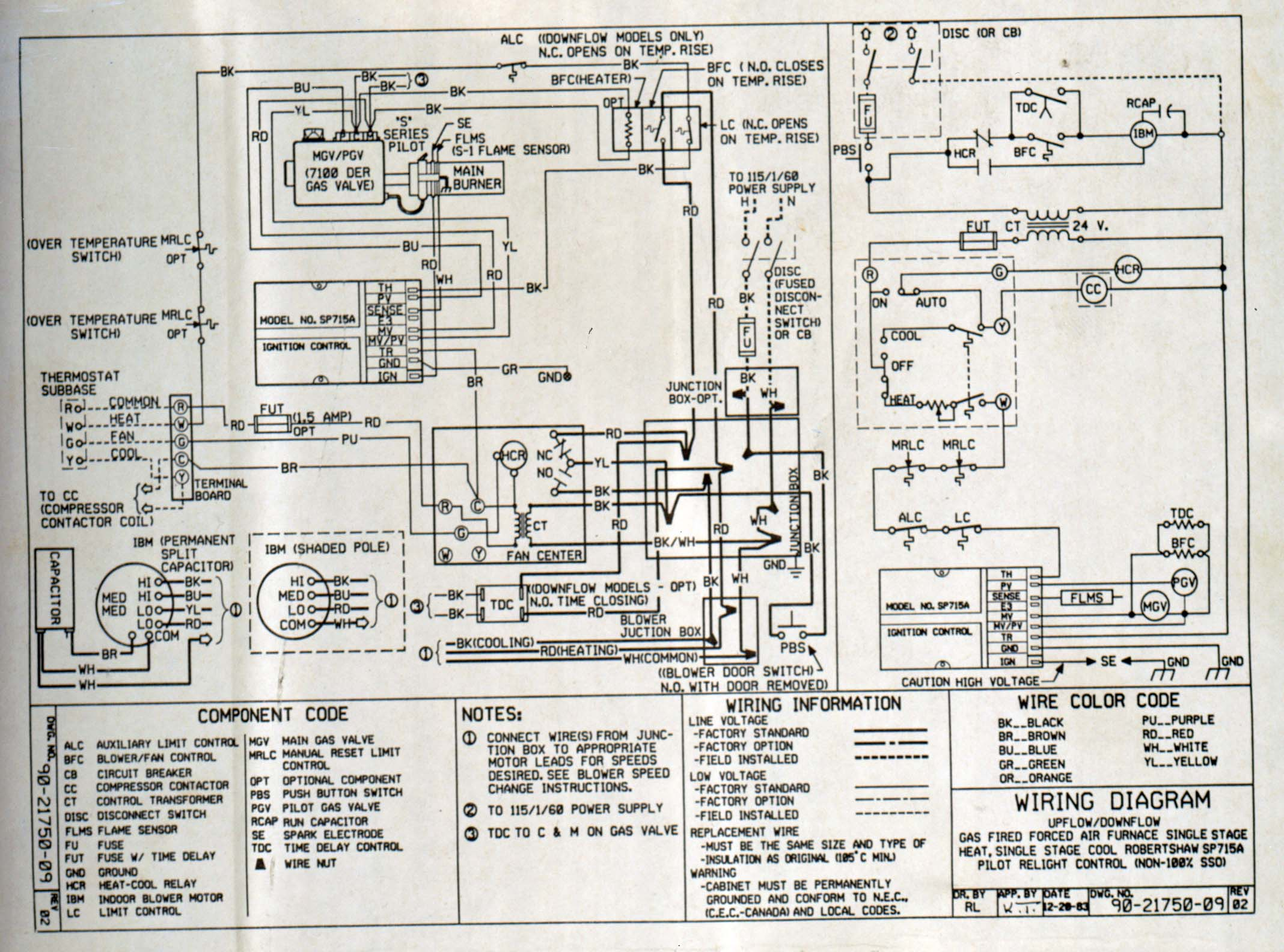 HVAC Fan Relay Wiring Diagram http://www.justanswer.com/hvac/4lmmx-furnace-fan-won-t-stop-running-heating-cycle.html