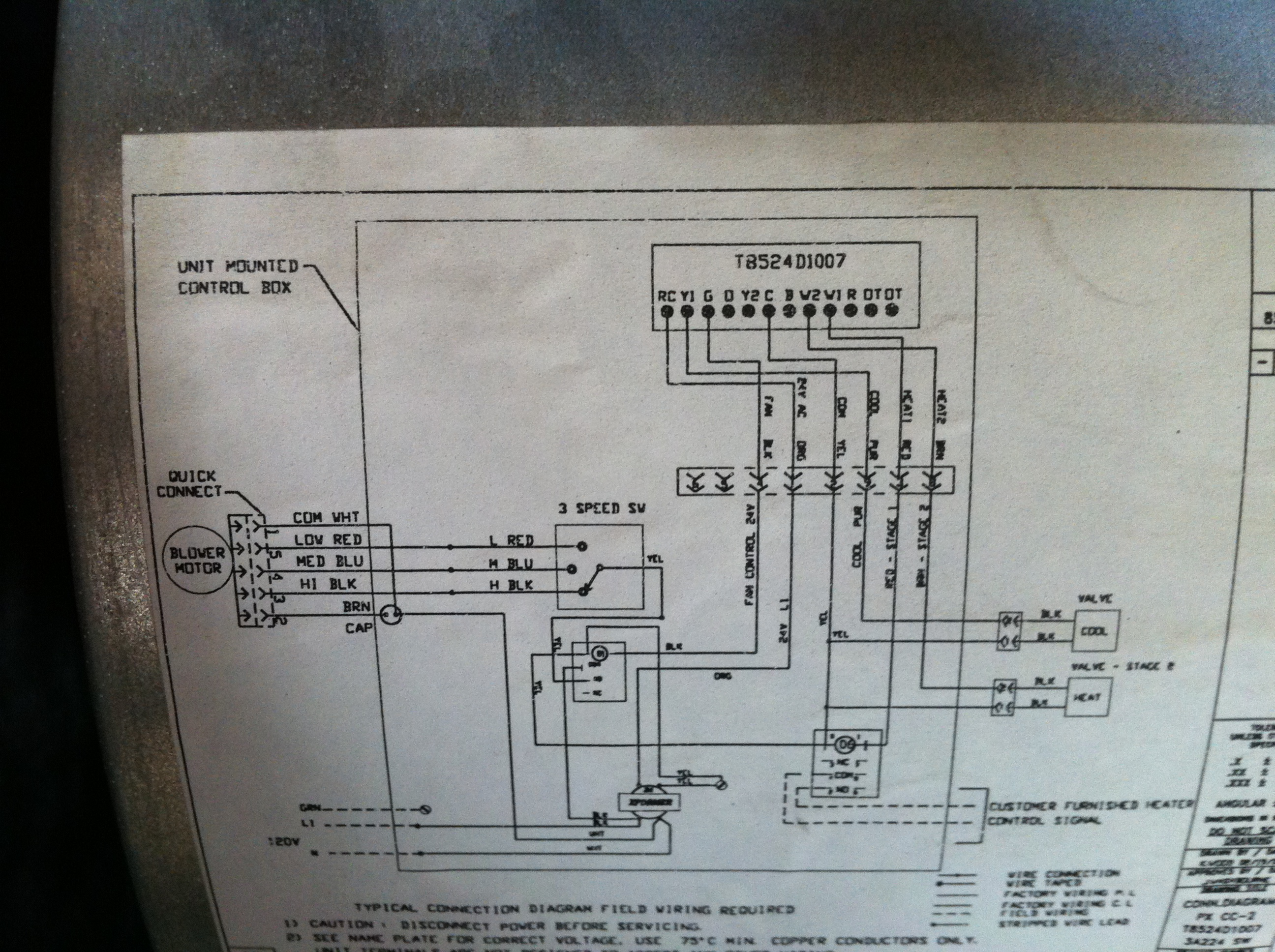 Wiring Diagram For Honeywell Th5220d : Honeywell thermostat th d wiring diagram