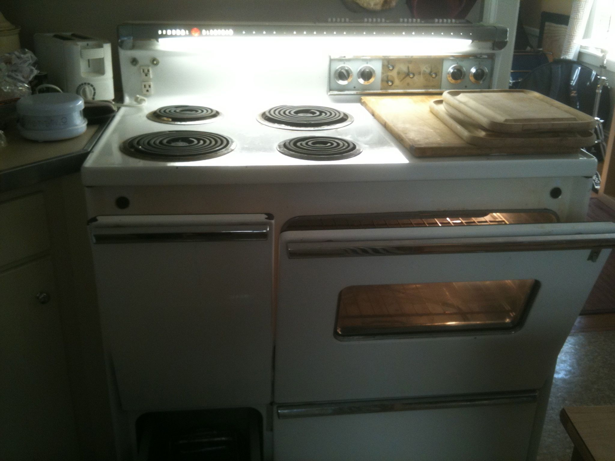 Vintage Electric Stoves For Sale Craigslist ~ Our ge electric stove oven