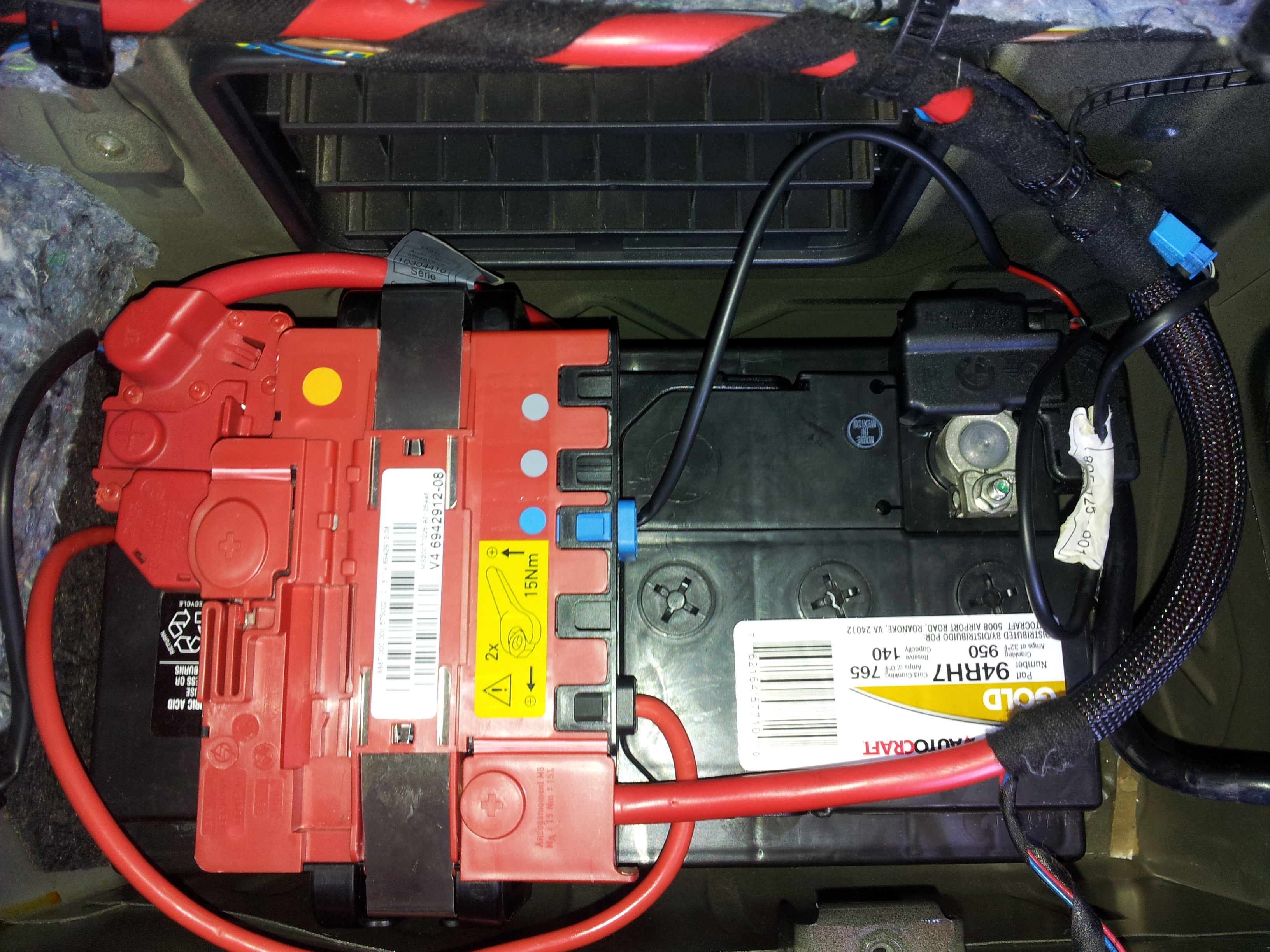 2007 bmw 328i battery wiring 19 17 depo aqua de \u2022seat belt and airbag light after battery install rh e90post com 2007 bmw 328i battery cable recall 2007 bmw 328i battery wiring