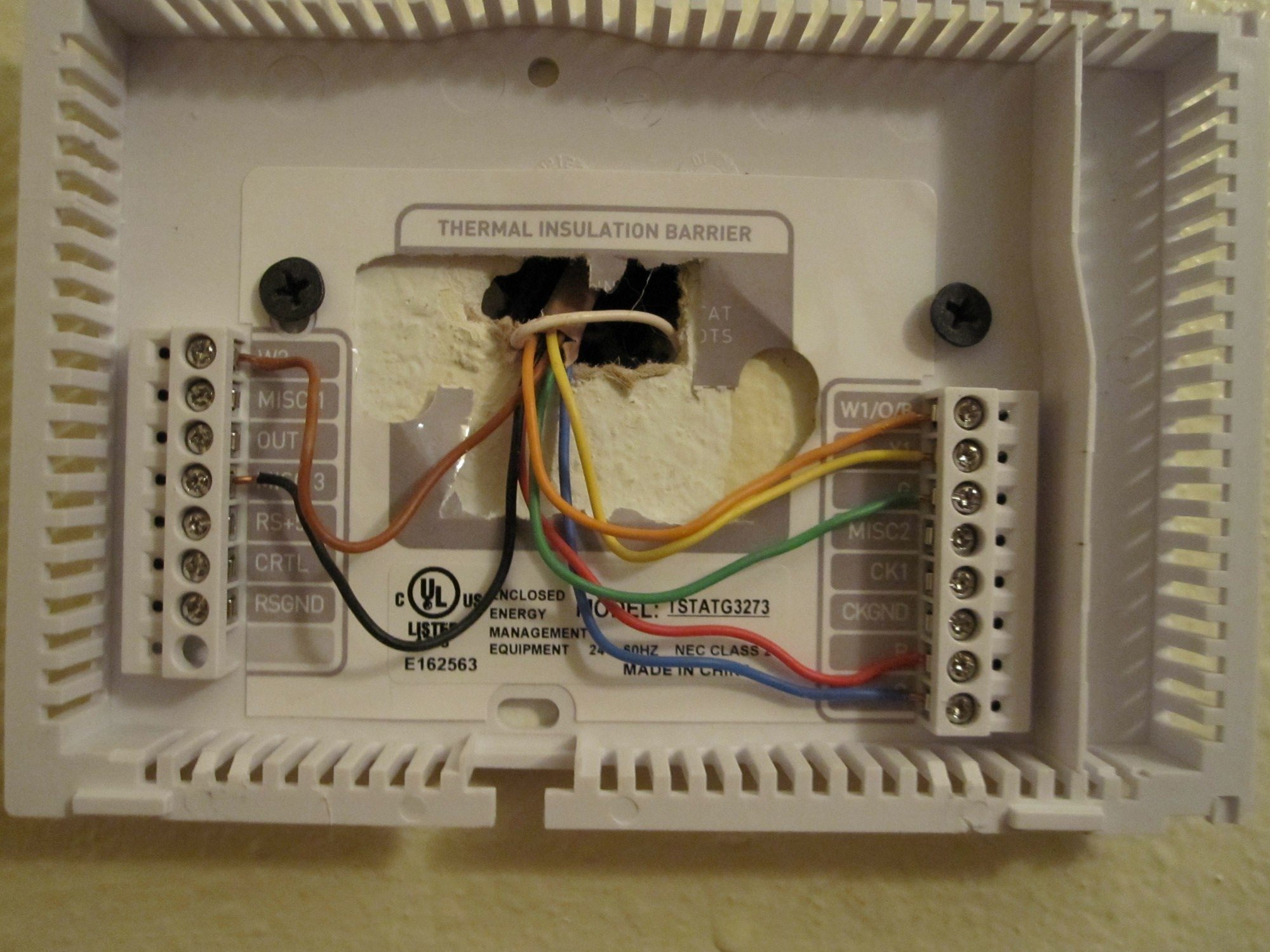Not sure nothing looks like that. Here's a photo of where the wires  #9D752E