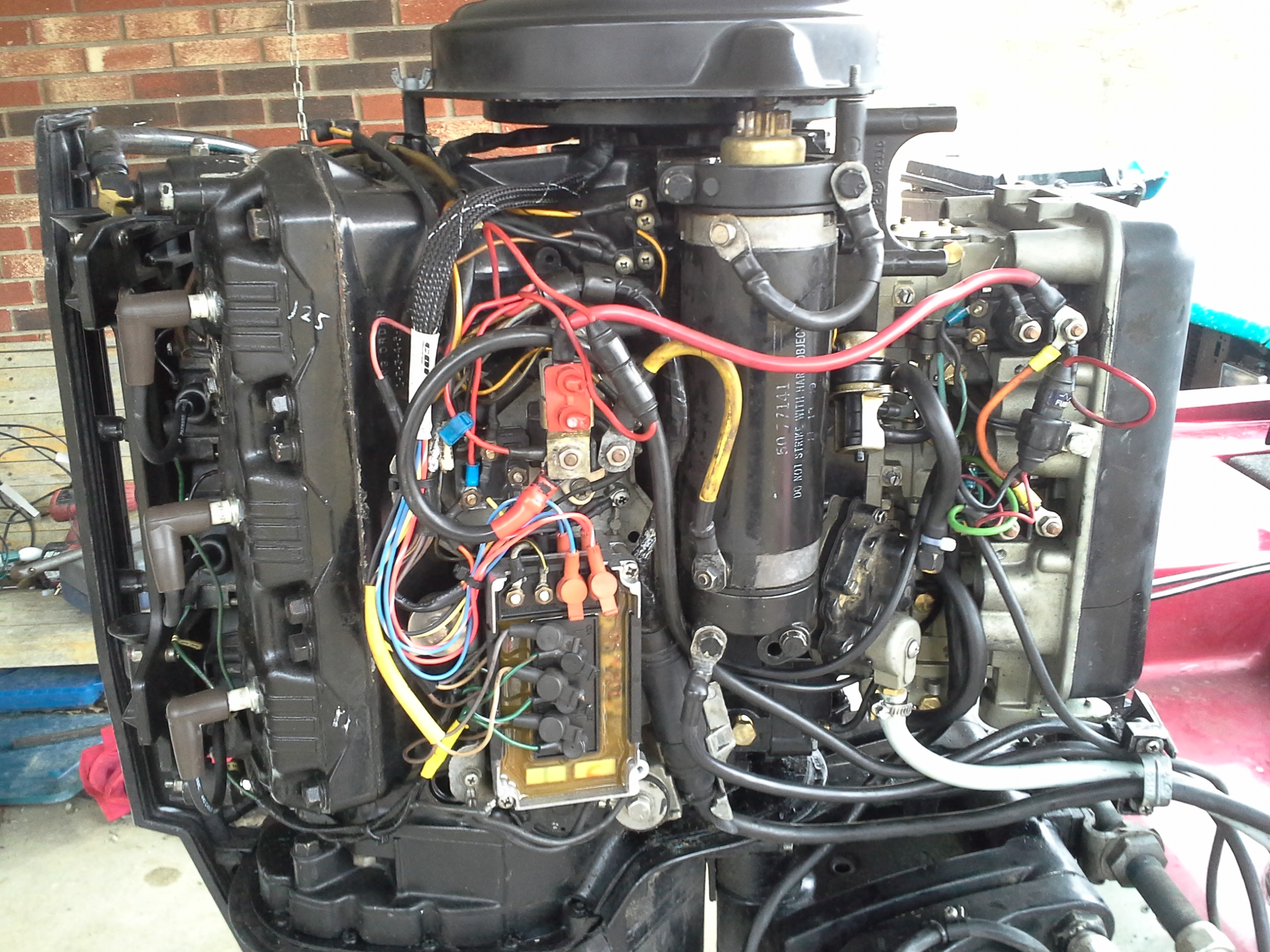 wiring diagram mercury 150 outboard the wiring diagram i have a mercury 150 black max that has no power under a load