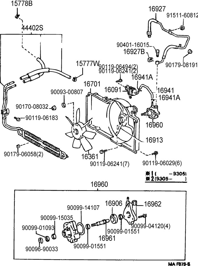 toyota 4 6 liter engine diagram