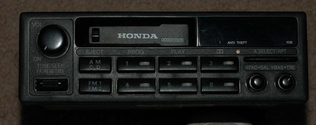 2002 Honda Accord Radio Code Unlock