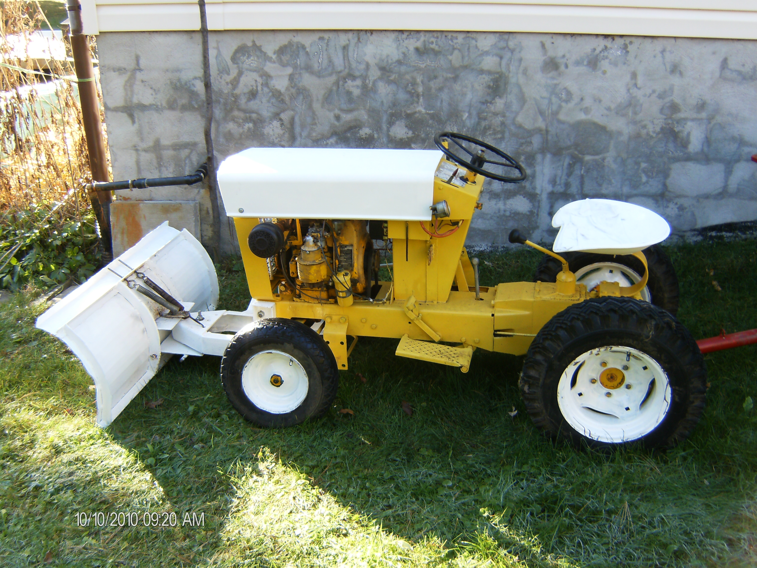 cub cadet garden tractor restoration cadet connection i am