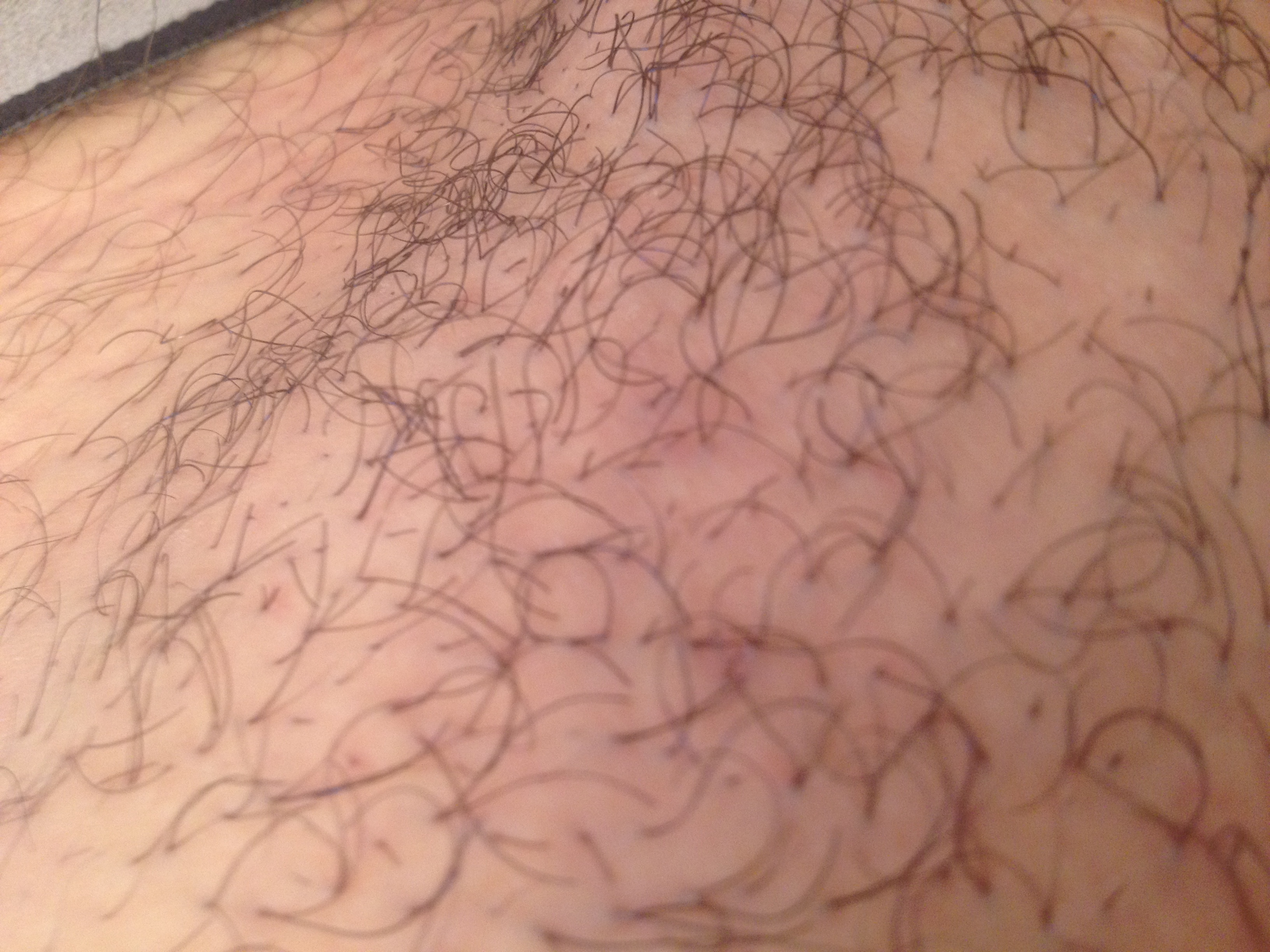 Afeitado adolescentes pubic rigion