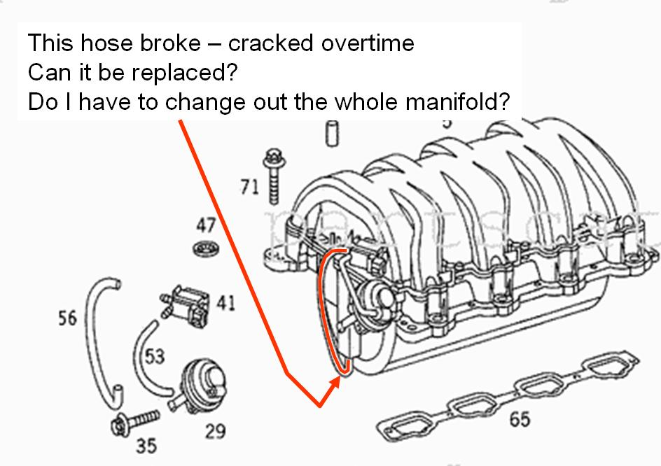 95 e320 engine diagram