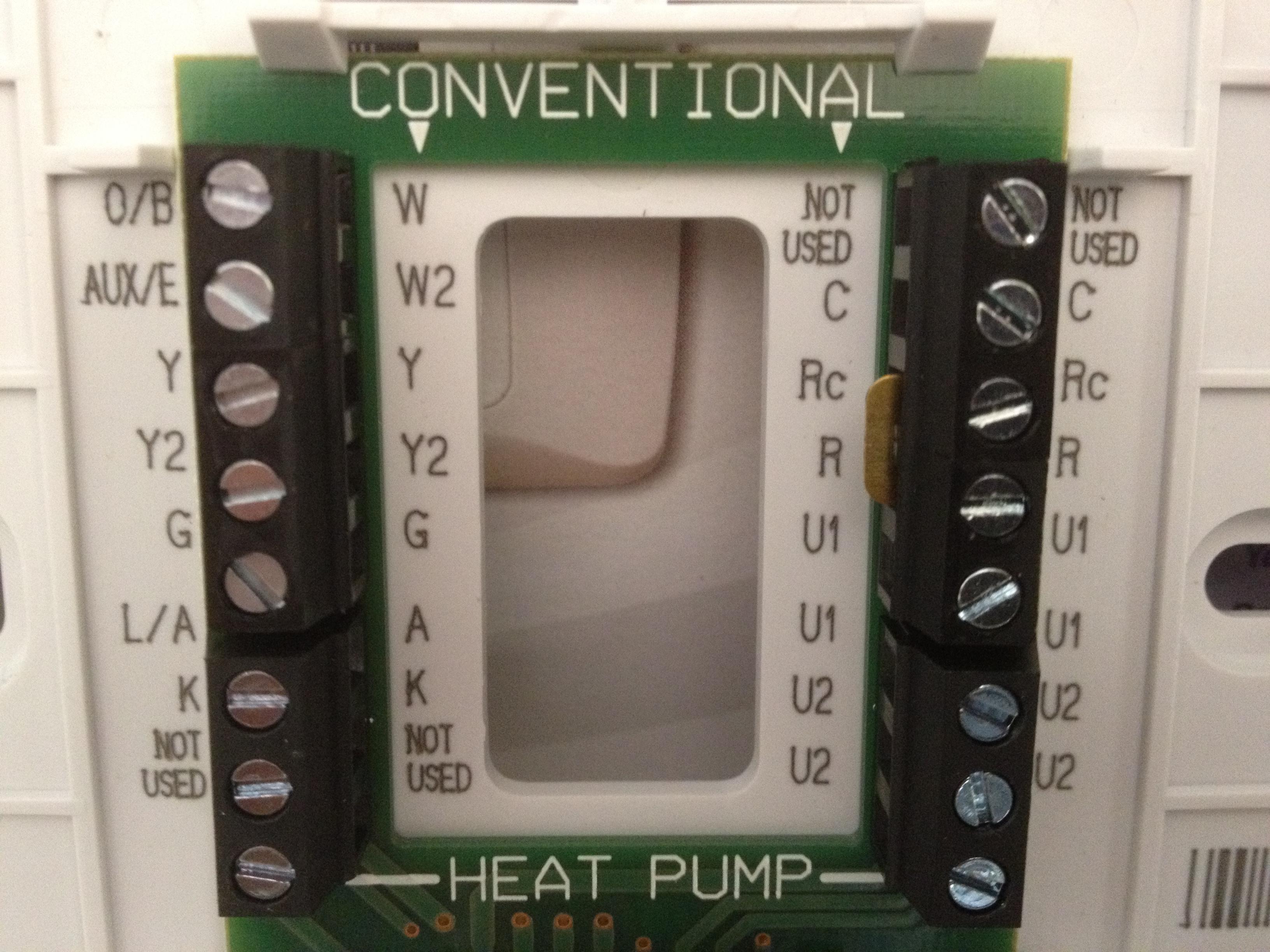 lennox heat pump thermostat manual
