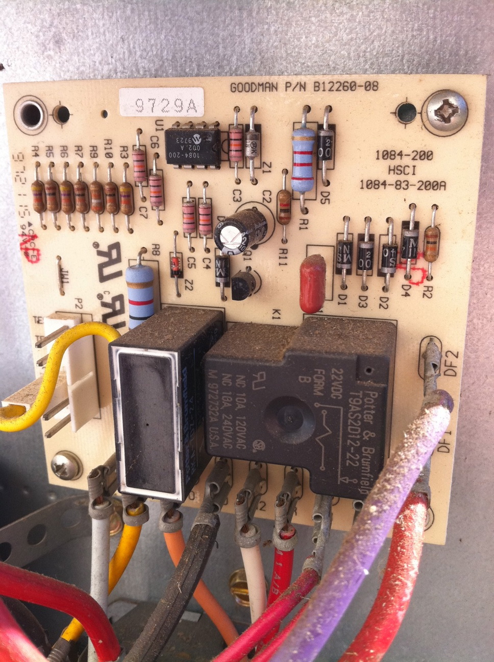Wiring Diagram Heat Pump Defrost Board : I have a heat pump that is not working the air handler just
