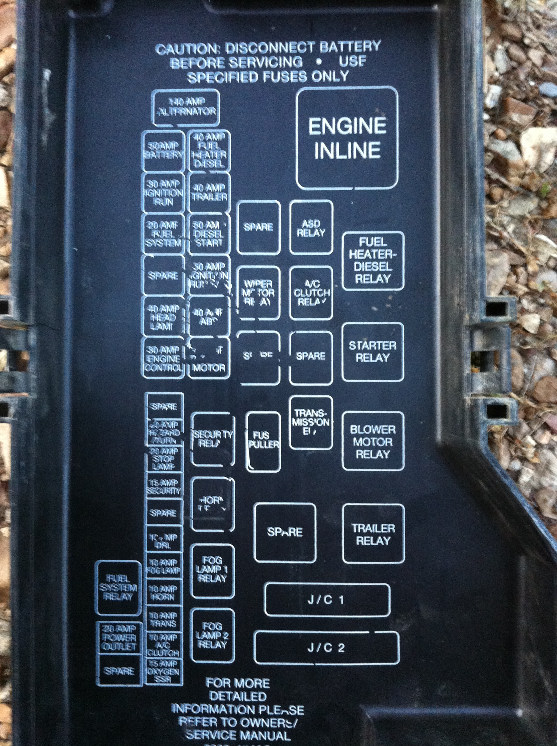 99 dodge ram fuse box diagram 98    ram    2500 with cummins engine blows 30 amp solenoid  98    ram    2500 with cummins engine blows 30 amp solenoid