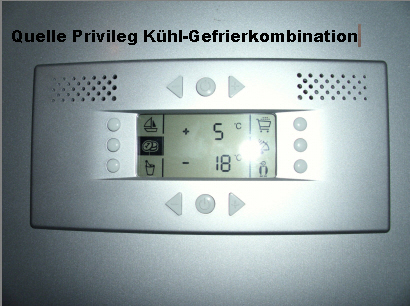 Kuhl gefrierkombination quelle privileg typ hzoks 3367ef for Kühl gefrierkombination quelle