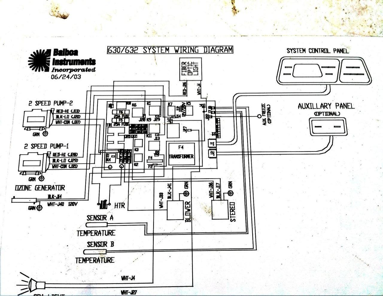 Spa Motor Wiring Diagram Auto Electrical Emerson 1081 230v I Have A 2003 Coleman Spas Model 482dlx It Has Two Motors