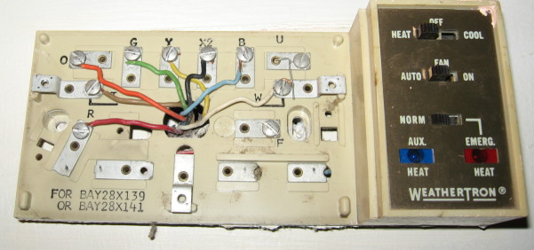 Trane Weathertron Thermostat Wiring - Example Electrical Wiring ...
