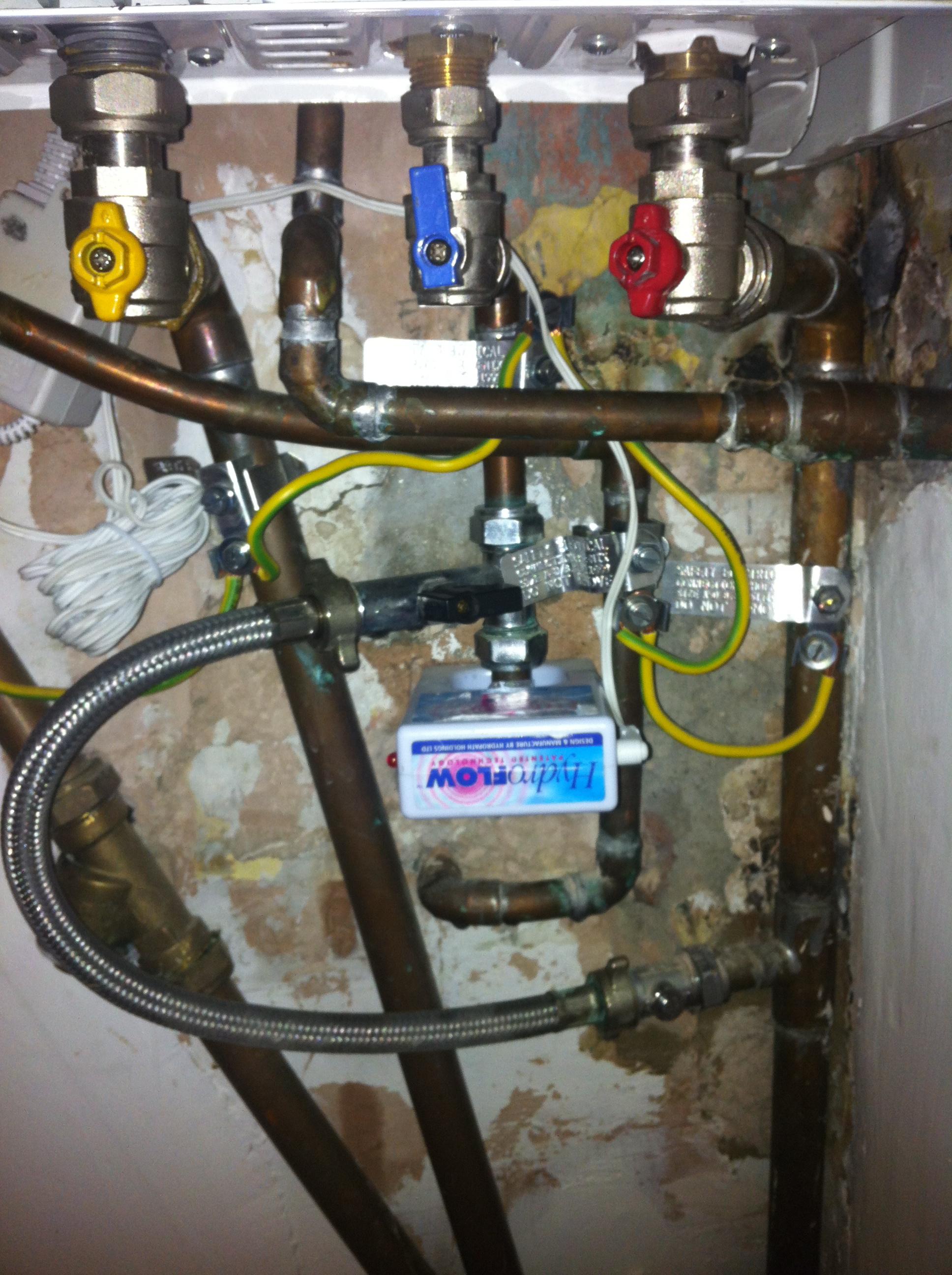Boiler pressure too low