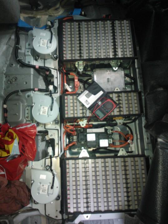 Banco de baterias hibridas