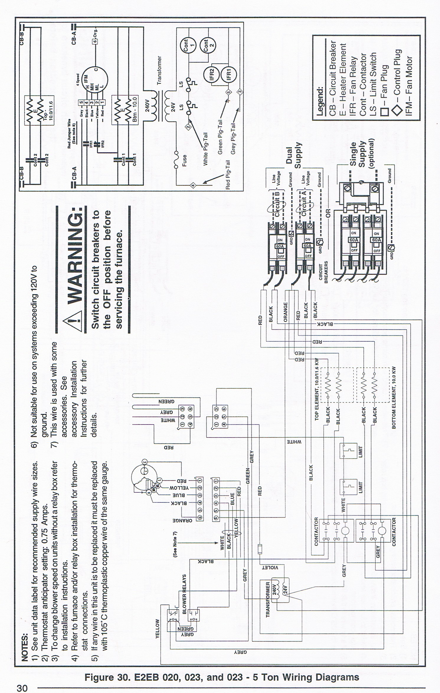 I Have A Nordyne E2eb 5 Ton Blower And The Motor Went Out Wiring Diagram