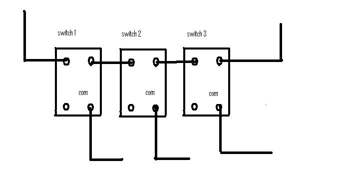 3 Gang Electrical Switch Wiring - Wiring Diagram For Light Switch •