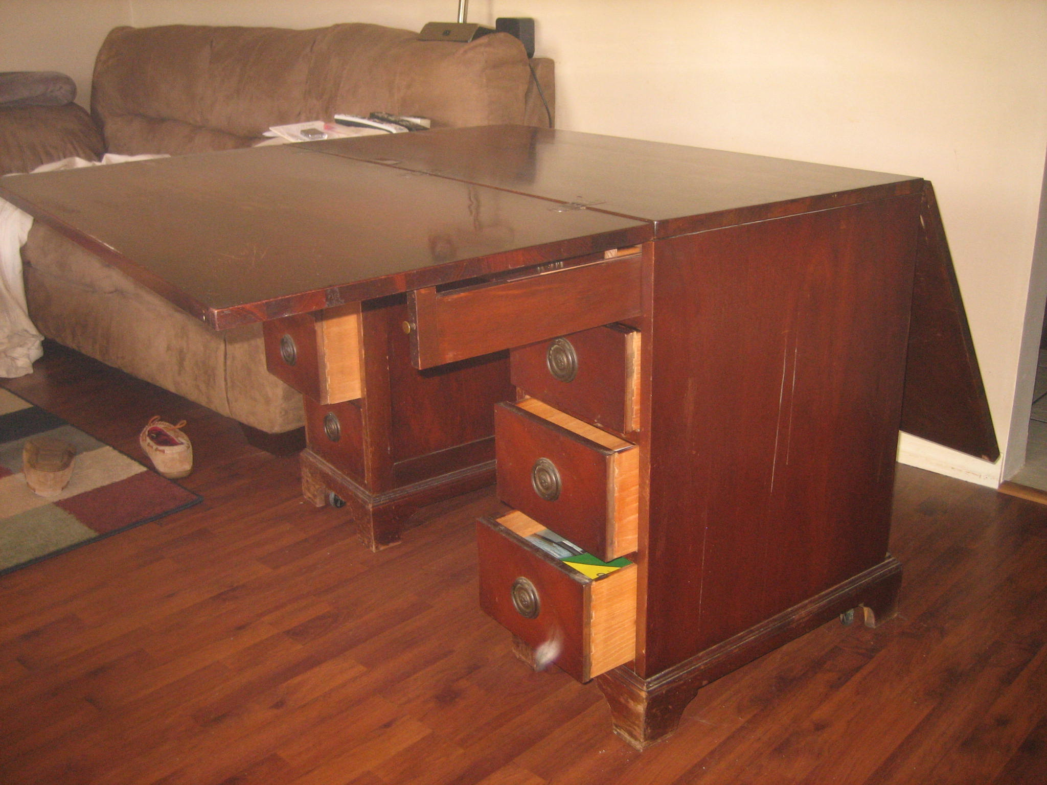 I think i have a 1940s desk made by sligh furniture in for K michelle bedroom furniture