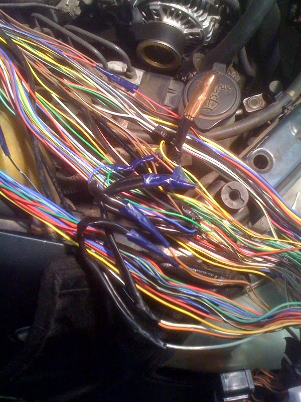 Damaged Wiring Harness : Camry i am looking at replacing the engine wiring harness