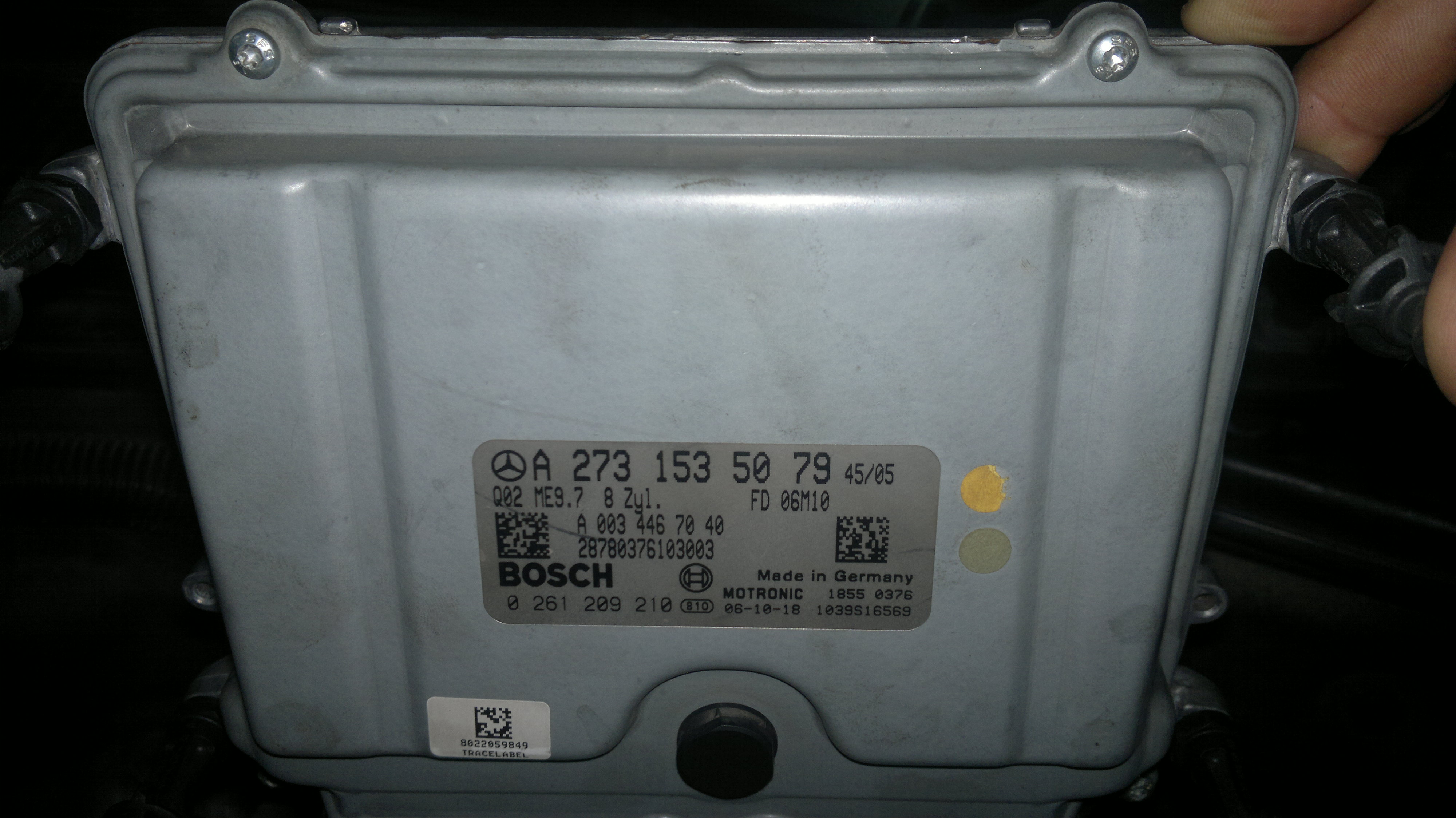 picture ecu nercedes s550