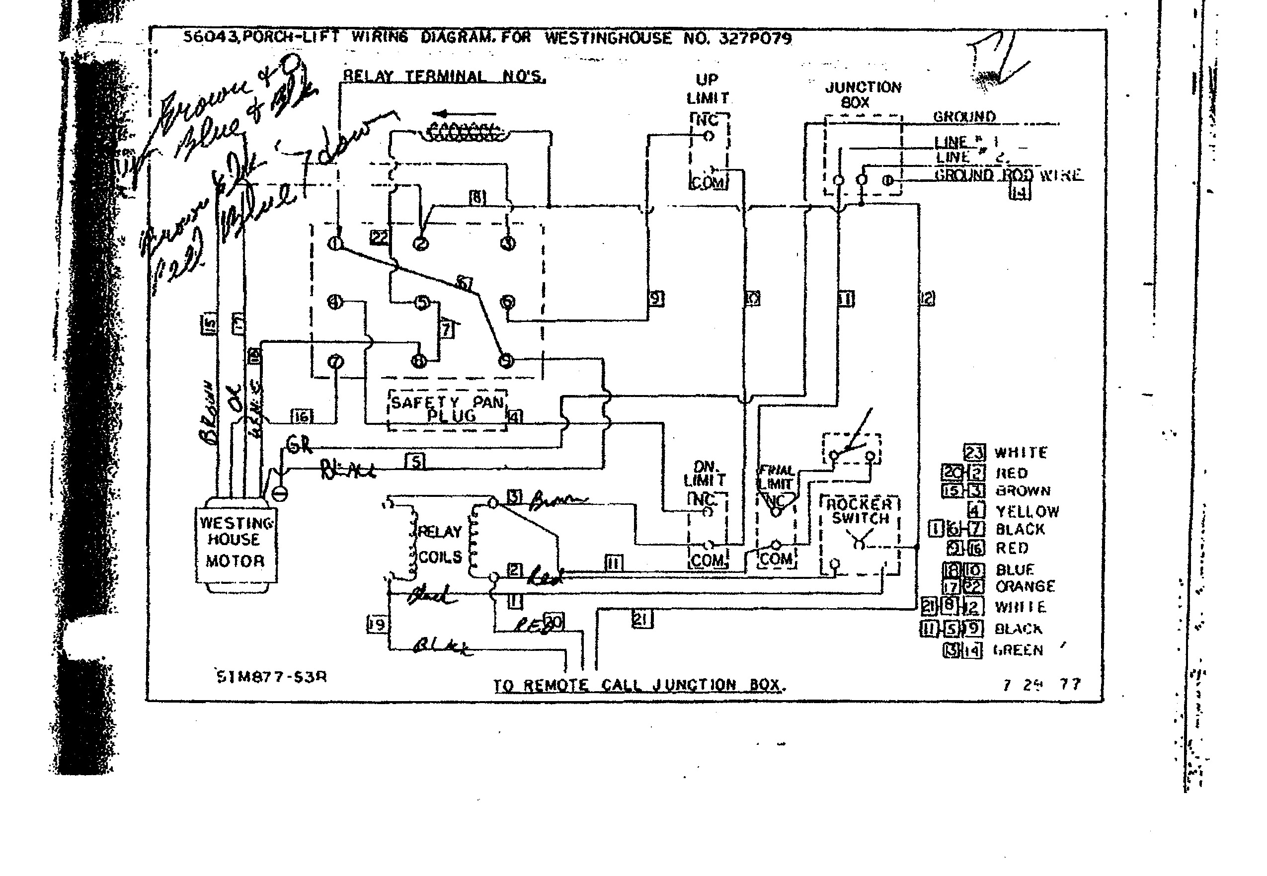 who    where can i get help with westinghouse motor wiring