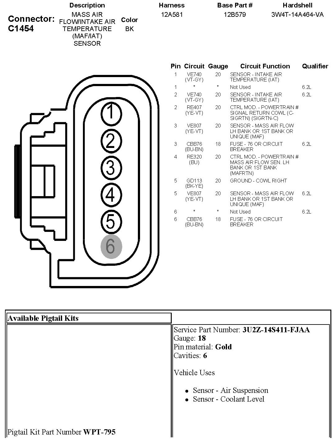 2010 f150 5 4l iat sensor check engine light comes on