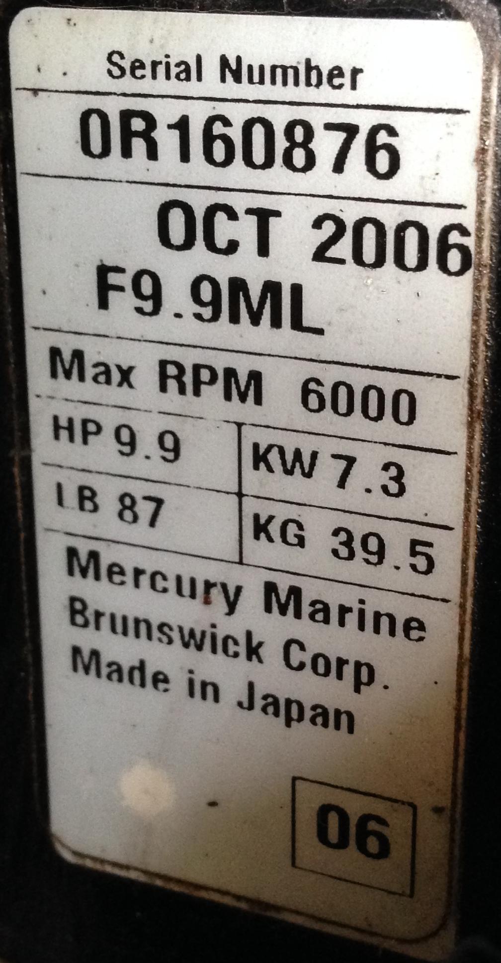 Mercury Boat Motor Serial Number Lookup impremedia net