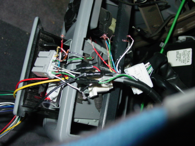1998 Toyota Sienna  Cassette Player  Cd Player  A Wiring Diagram