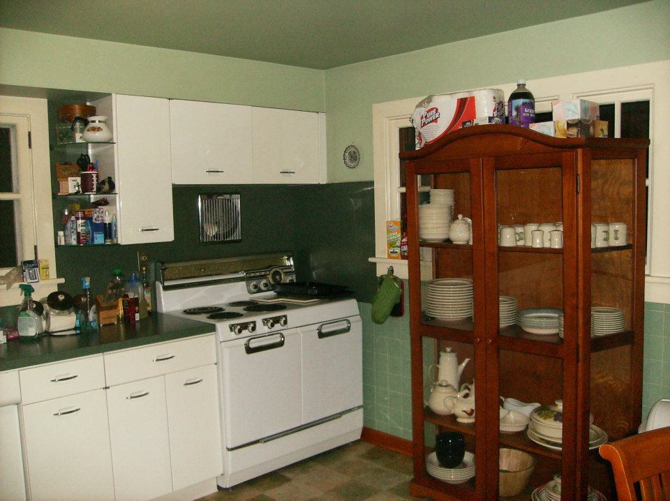 1950s vintage metal geneva kitchen cabinets