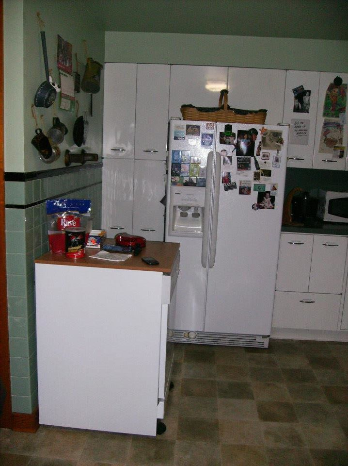 1950s vintage metal geneva kitchen cabinets for 50s metal kitchen cabinets