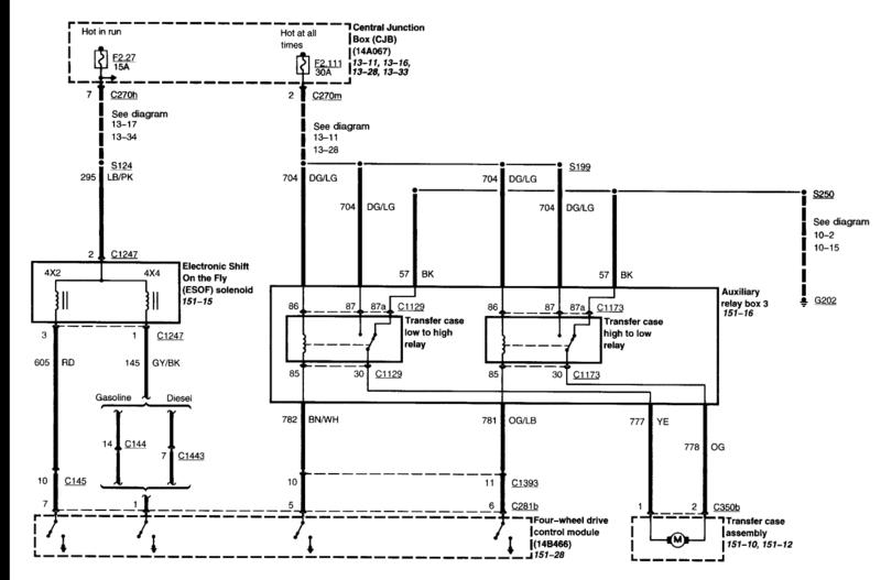 wiring diagram 2002 f550 ford truck
