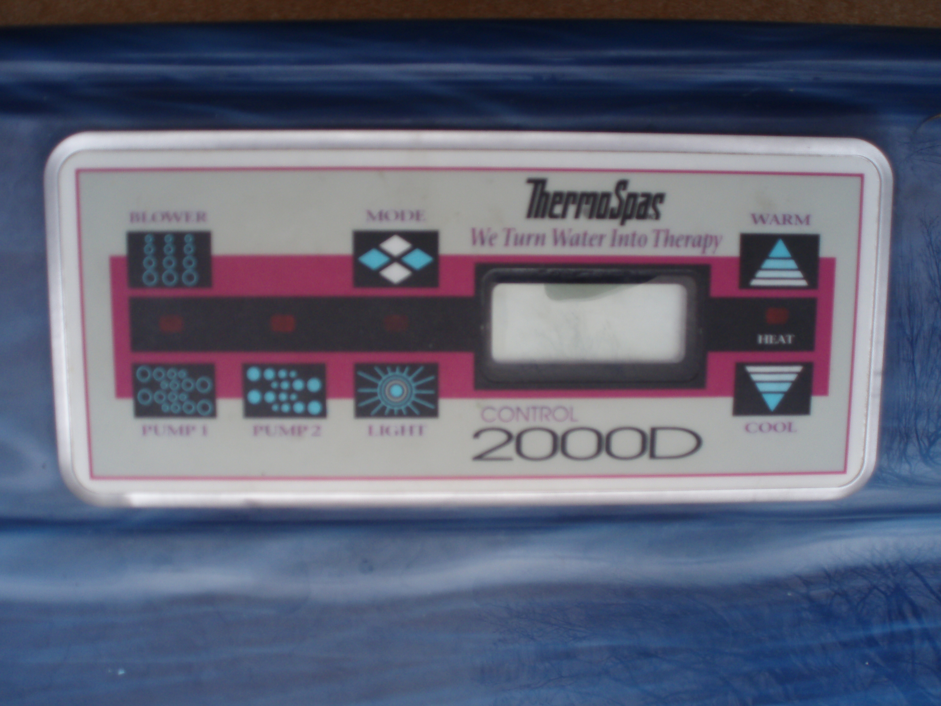 hi i a thermospa 2000d the pumps are running continuously