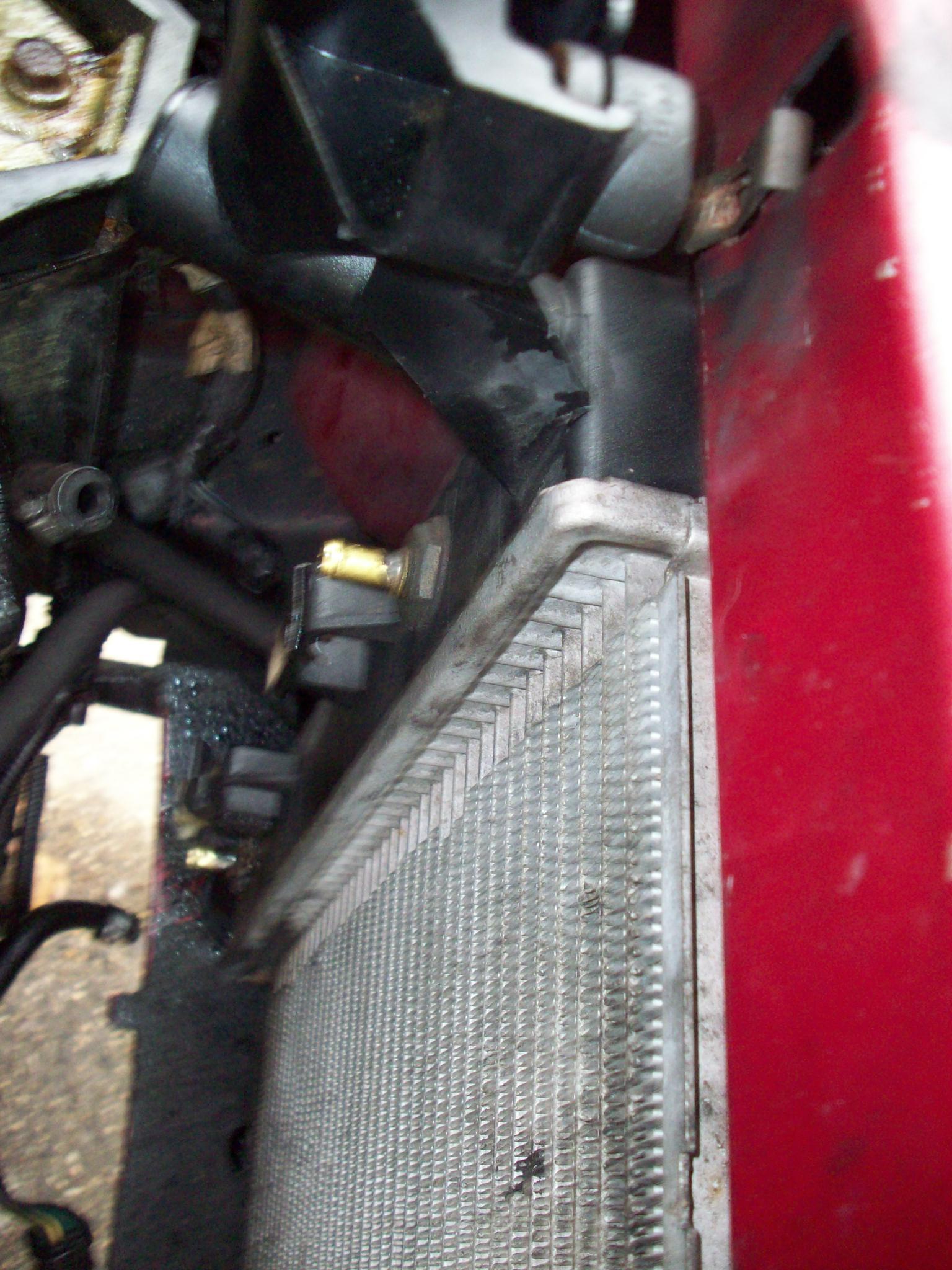 Dodge Caravan Questions Dodge Radiator