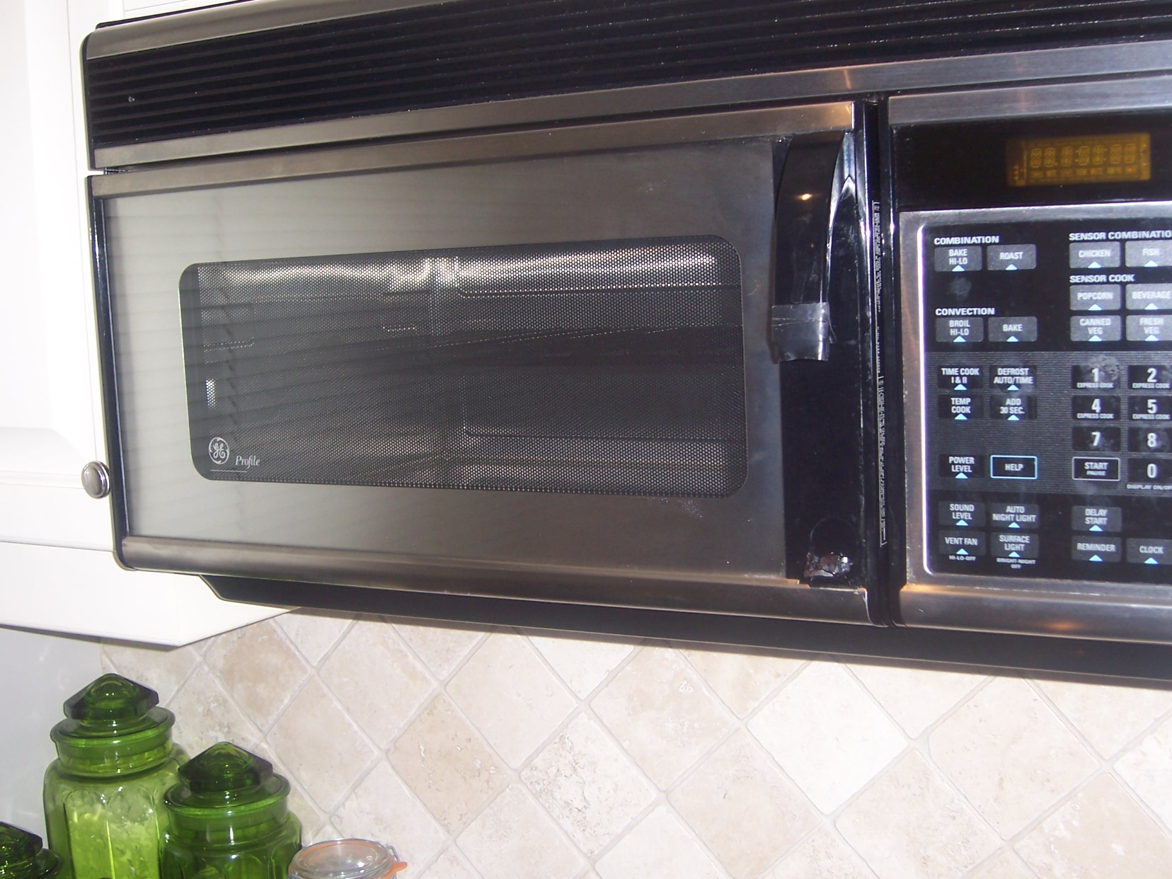 Can I Replace The Handle On My Ge Profile Microwave Jvm11