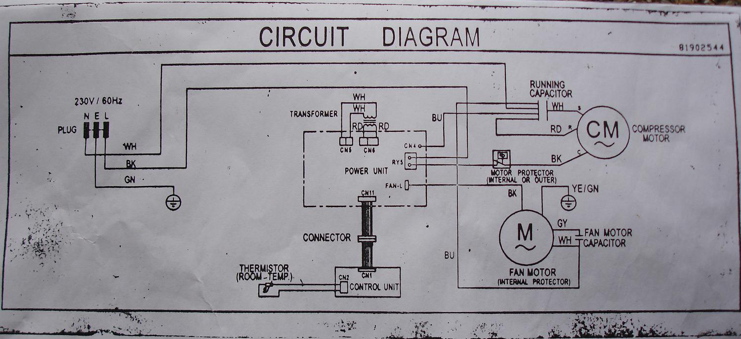 wiring diagram for air conditioner the wiring diagram schematic wiring diagram of window type air conditioner wiring diagram